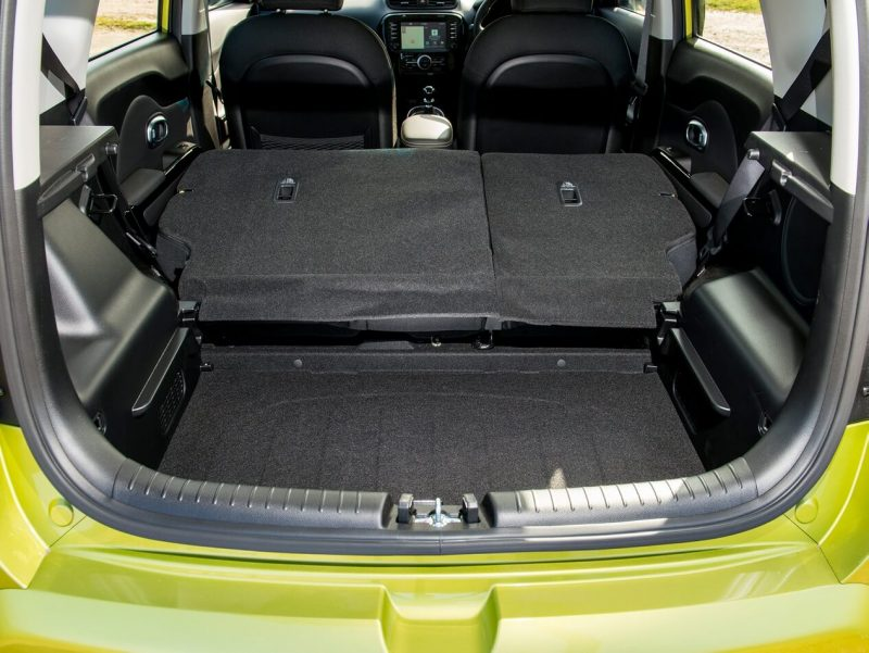 The trunk of the KIA Soul II