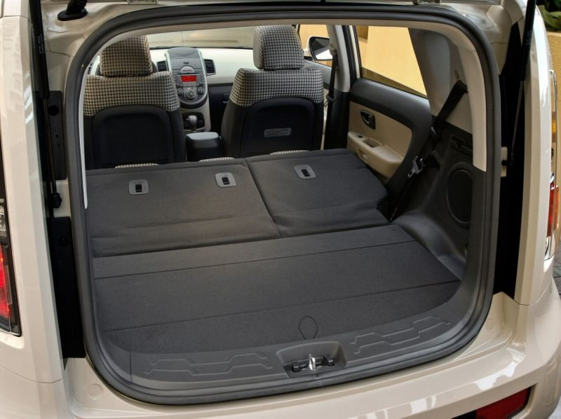 The trunk of the KIA Soul I