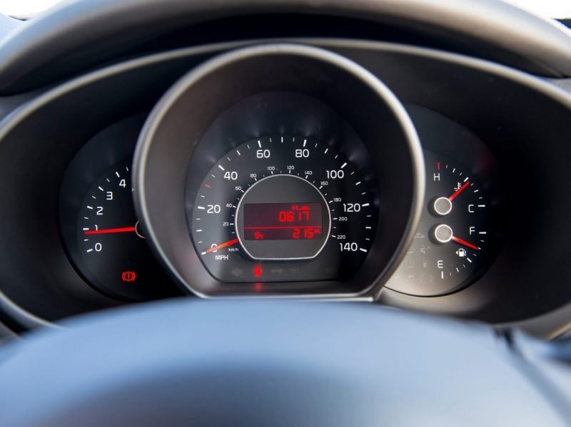 KIA Soul II instrument panel