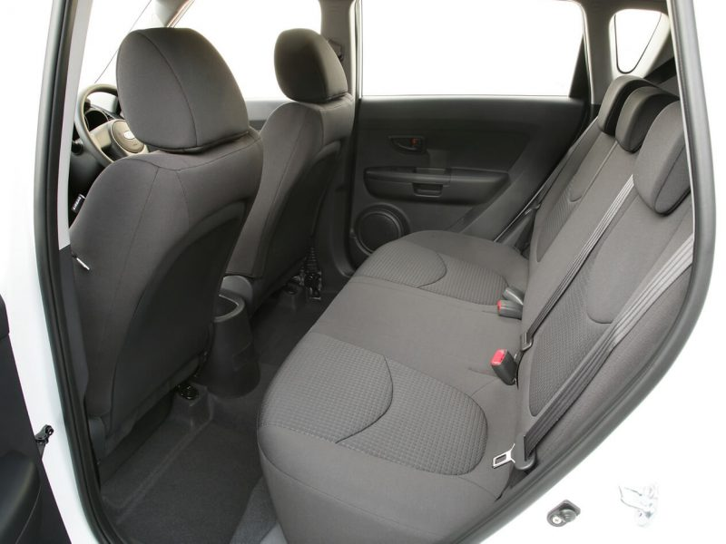 KIA Soul I's back sofa