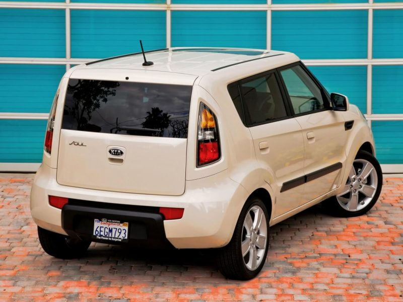 Rear view of Kia Soul