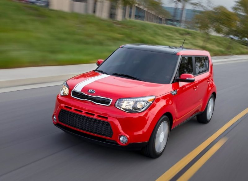 Updated Kia Soul