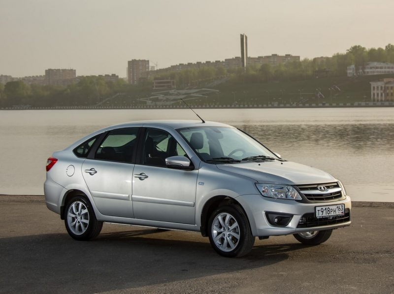 The new Lada Granta Liftback