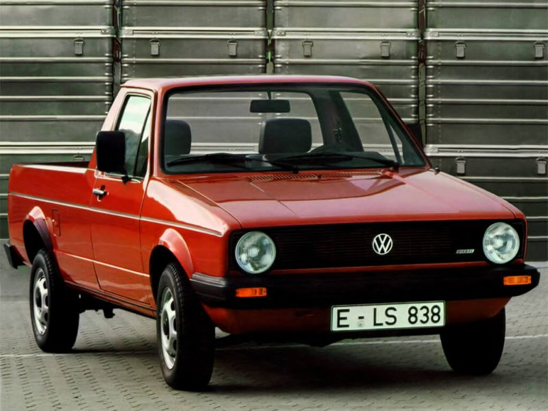 Photo Volkswagen Caddy pickup