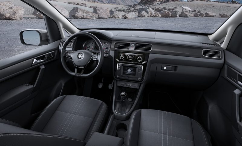 Interior Volkswagen Caddy IV