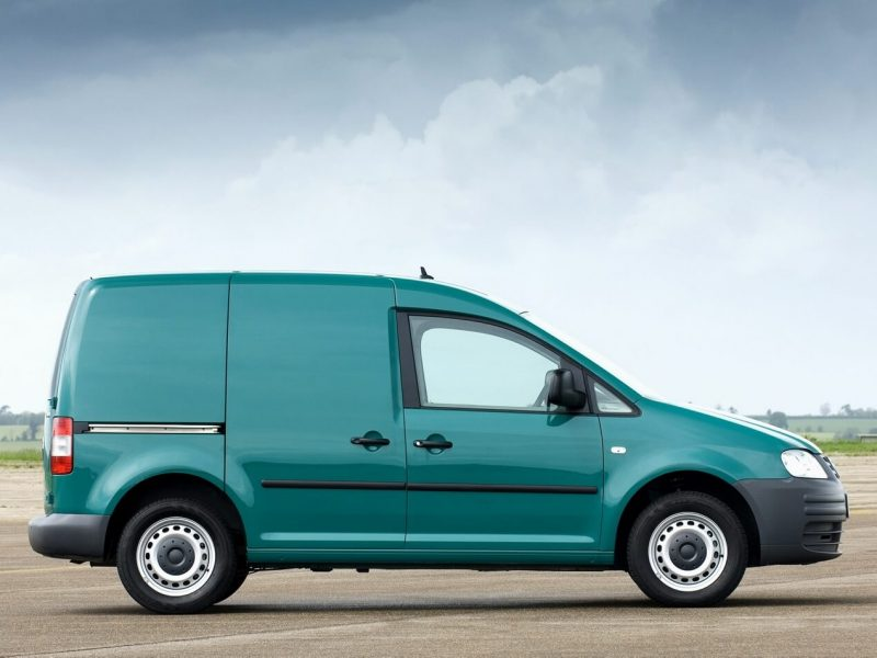 Side view of Volkswagen Caddy Kasten