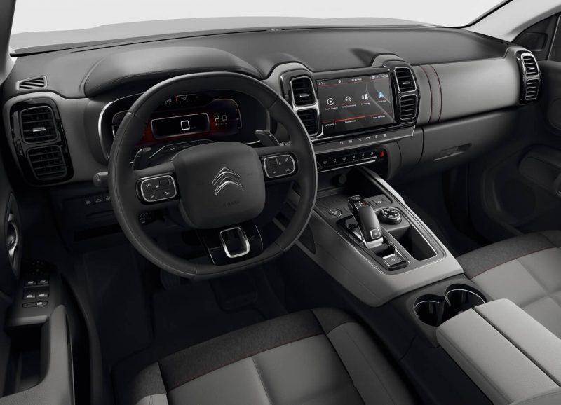 Interior Citroen C5 Aircross