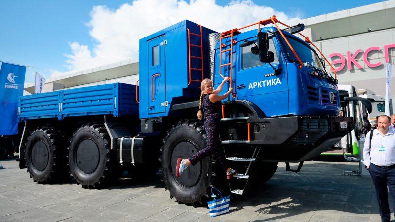 KAMAZ Arctic all-terrain vehicle