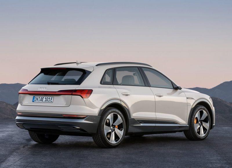 Audi e-tron photo of the car