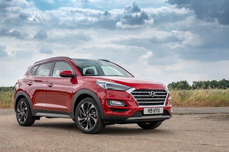 Updated Hyundai Tucson III generation