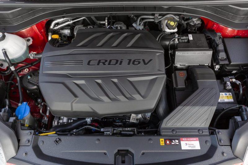 Kia Sportage engine