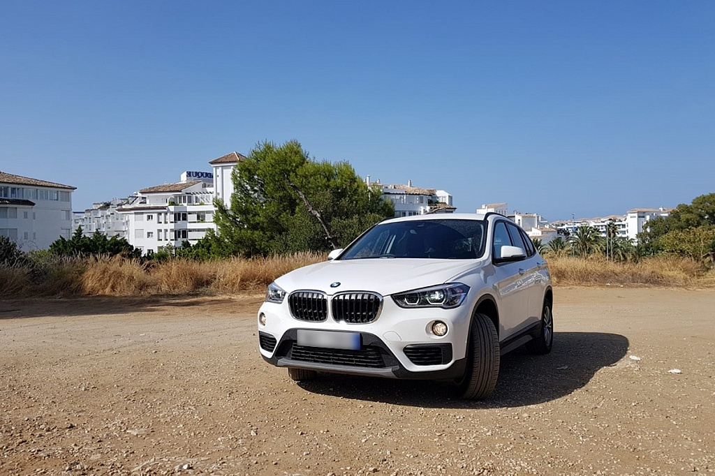 BMW for hire in Spain