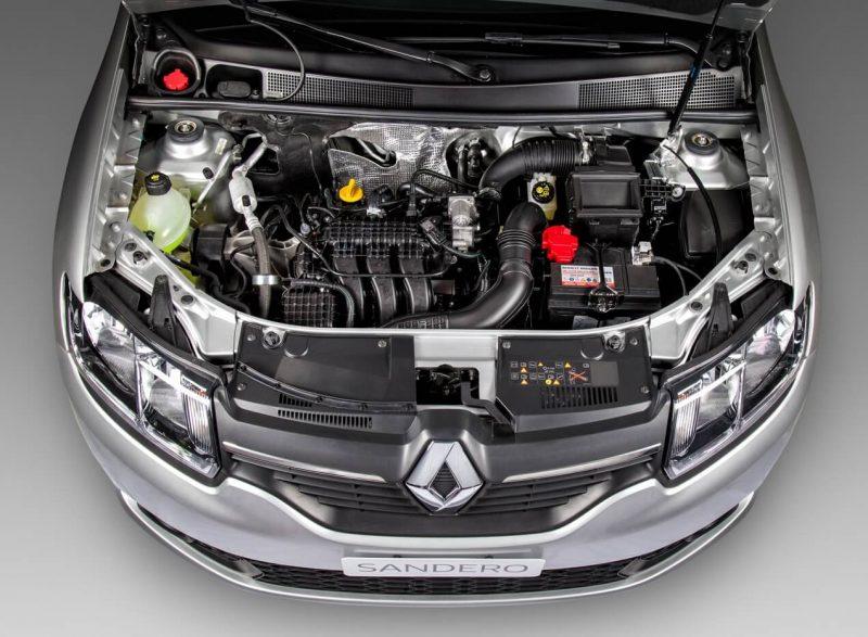 Renault Sandero II engine
