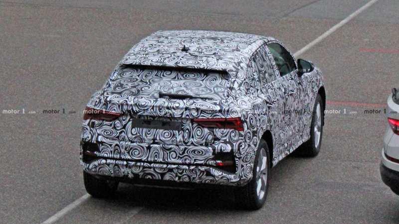 Audi Q4 rear view