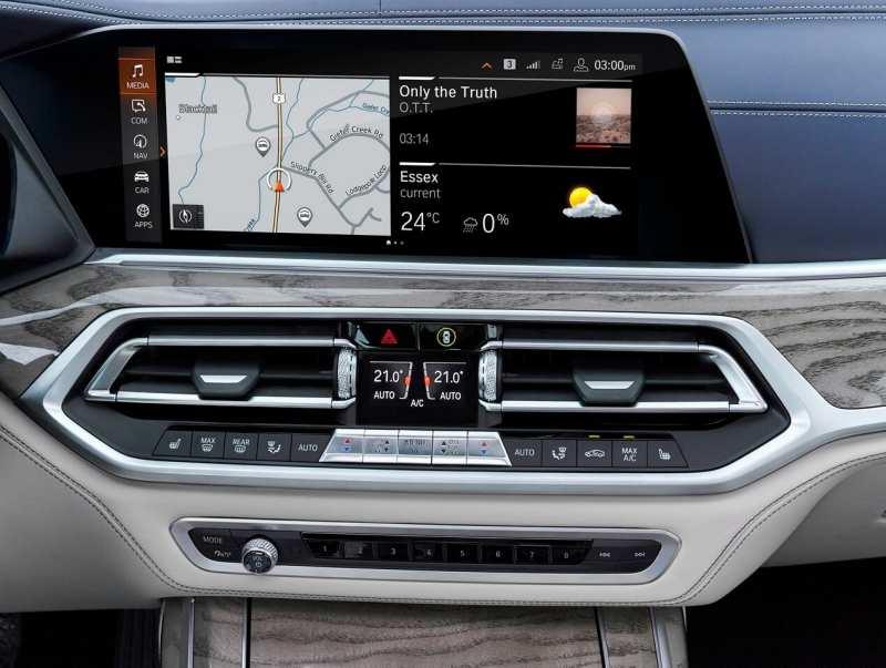 Digital screen BMW X7