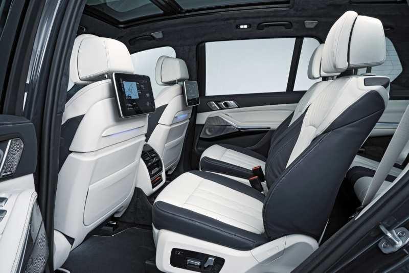 Back row BMW X7