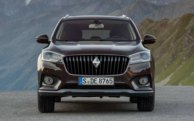 Front view of Borgward BX7