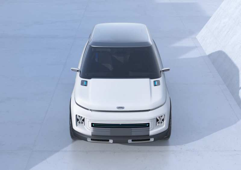 Front view of Geely Icon