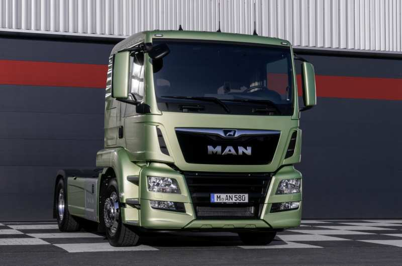 MAN TGS front view