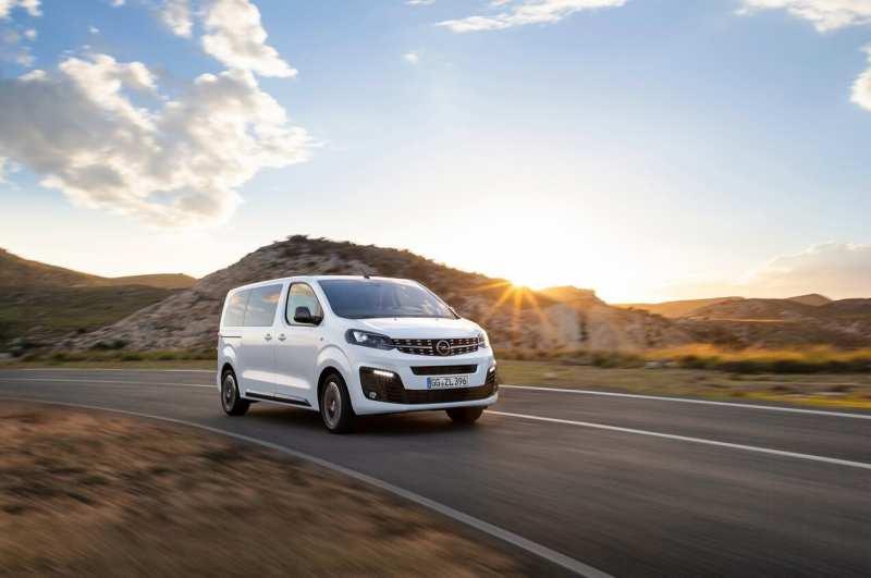 Auto Opel Zafira Life