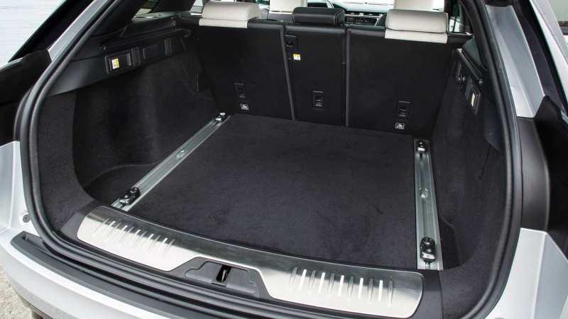 Trunk of Range Rover Velar