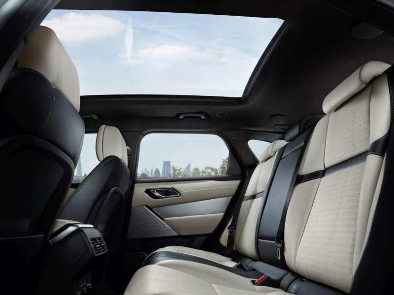 Second row of seats Range Rover Velar