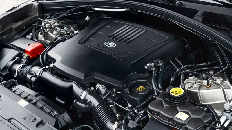 Range Rover Velar engine