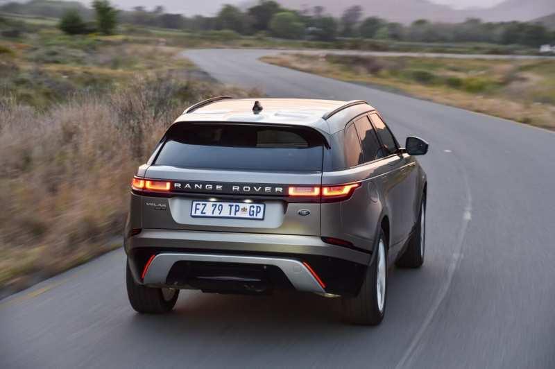 Range Rover Velar rear view