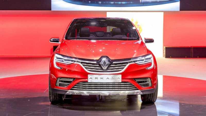 Renault Arkana front view