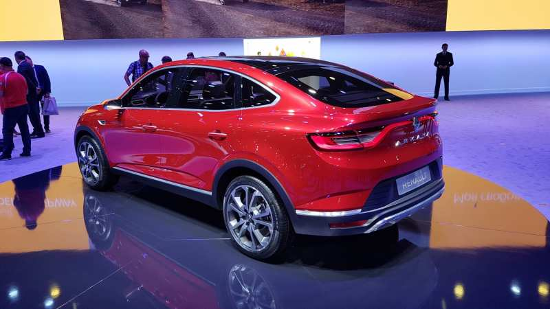 The Renault Arkana crossover