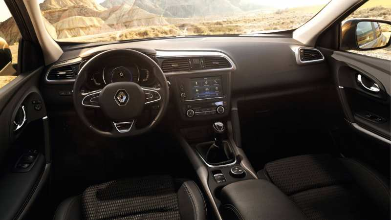 Interior of Renault Arkana
