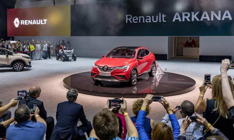 The new Renault Arkana