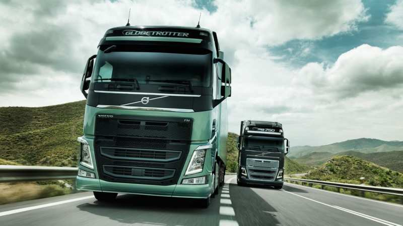Front view Volvo FH