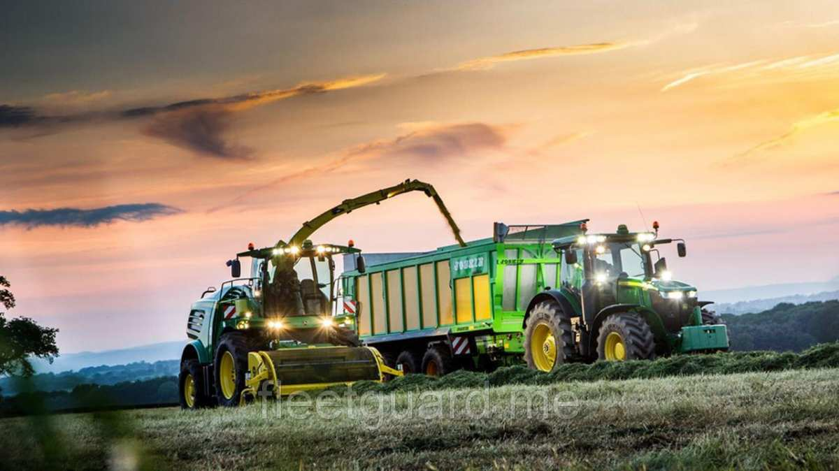John Deere universal agricultural tractor
