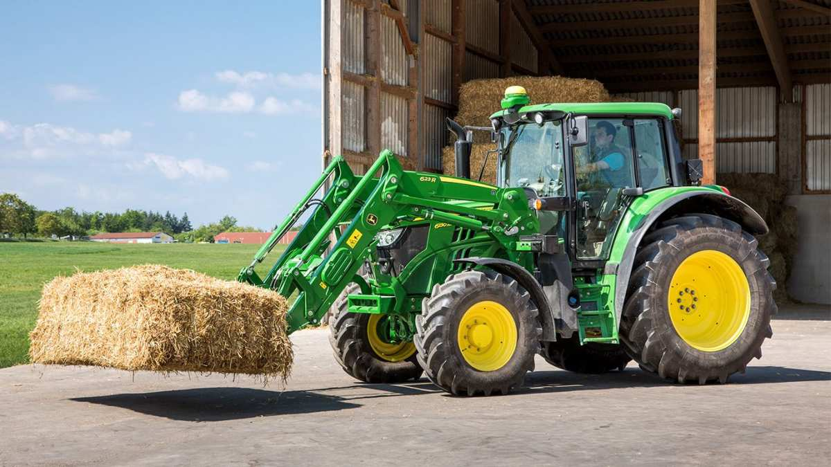Buy wheeled tractor John Deere 6110B