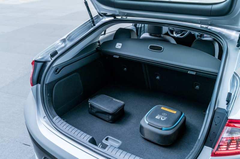 Hyundai Ioniq trunk