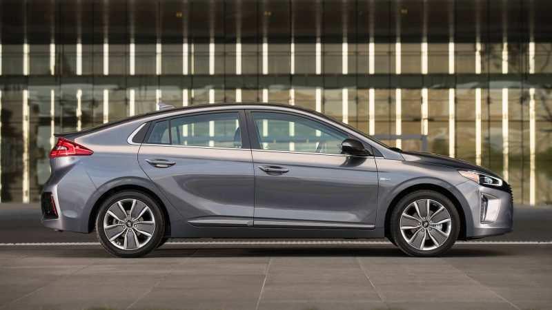 Hyundai Ioiniq side view