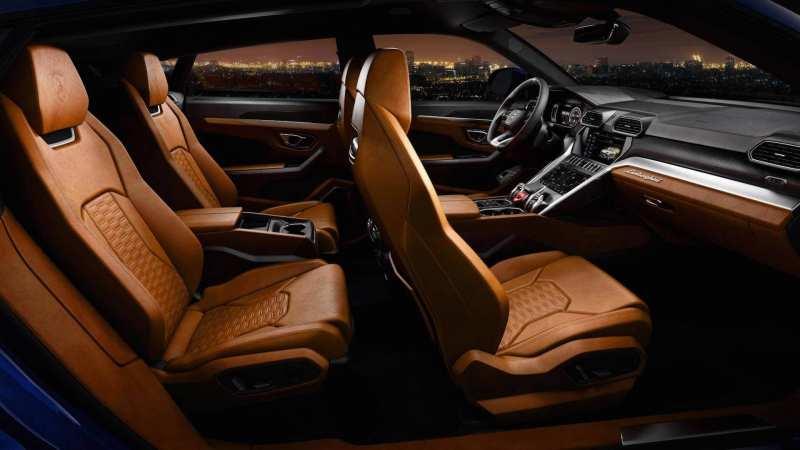 Lamborghini Urus Salon