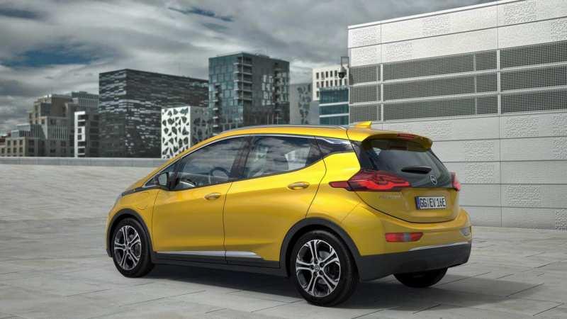 Opel Ampera-e photo auto
