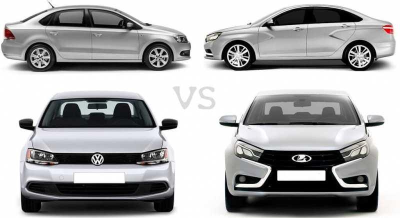 Polo or Vesta: which car is cheaper?