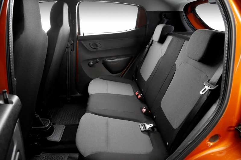 Renault Kwid rear seats