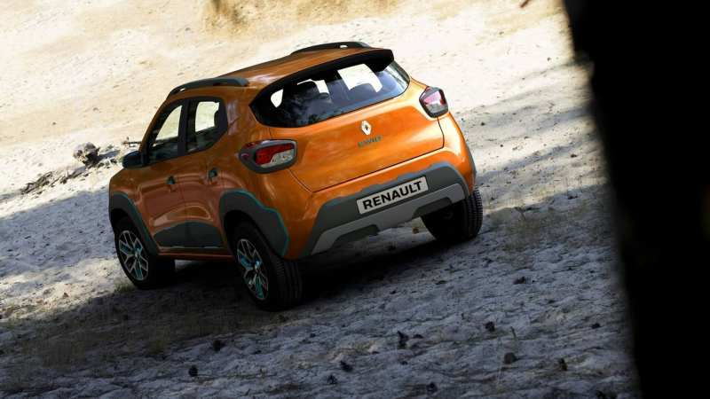 Rear view Renault Kwid