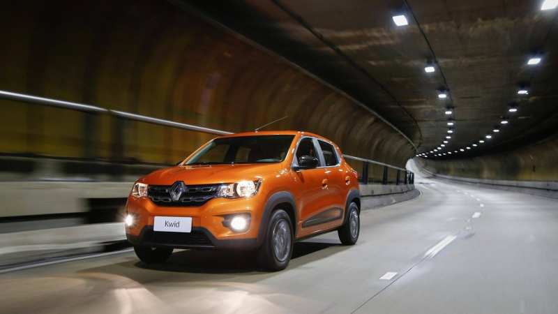 The Renault Kwid crossover