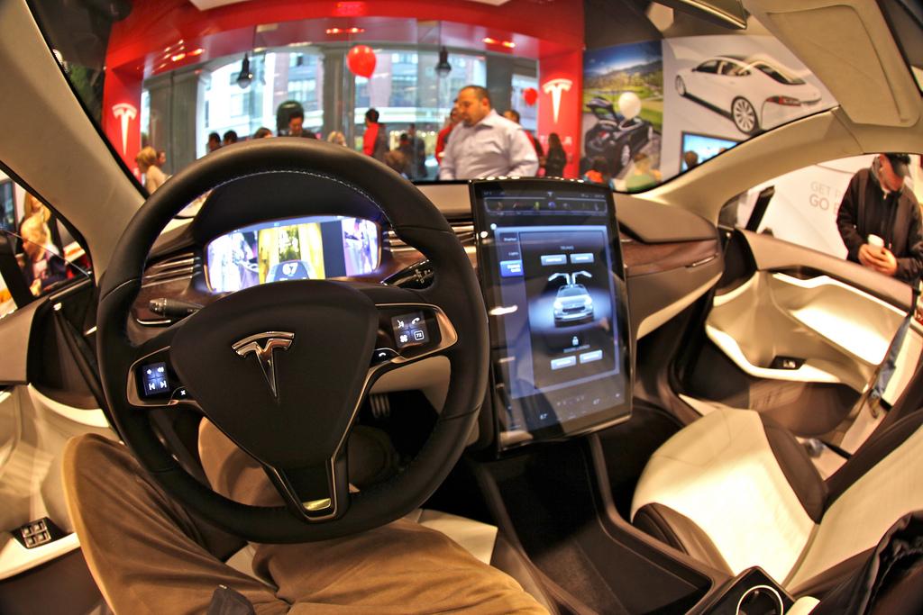Interior Tesla Model X 100D