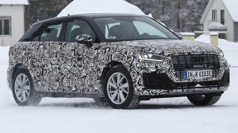 Auto Audi Q2 E-Tron
