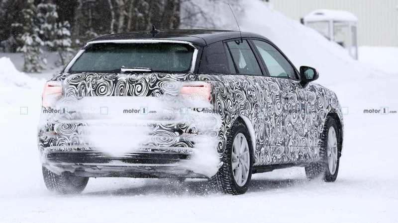 Audi Q2 E-Tron rear view