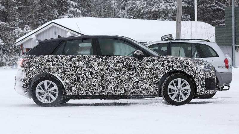 Audi Q2 E-Tron Side View