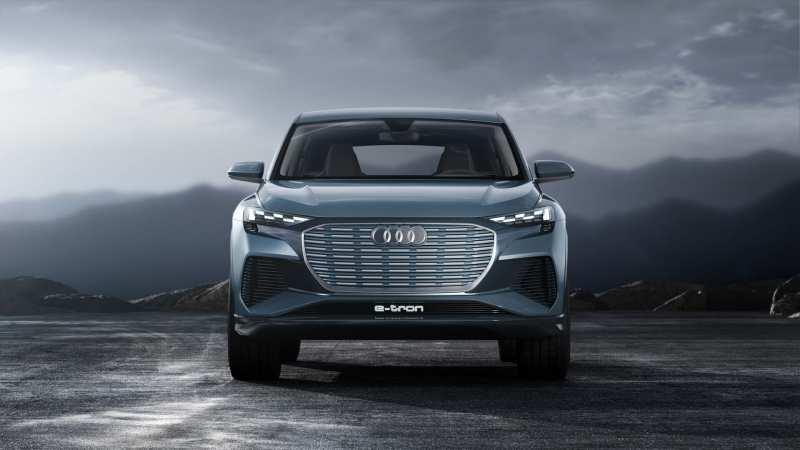 Audi Q4 e-tron front view