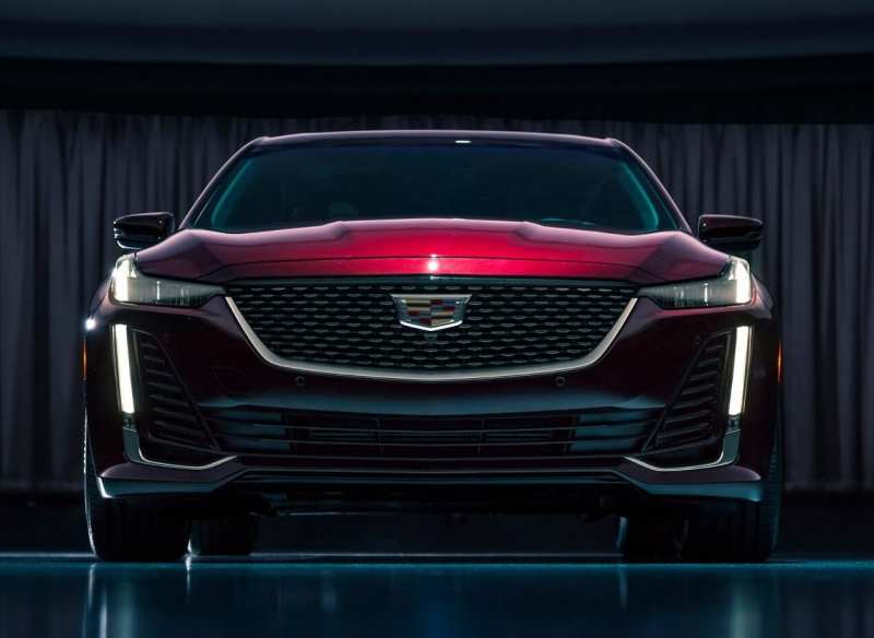 Front view of Cadillac CT5