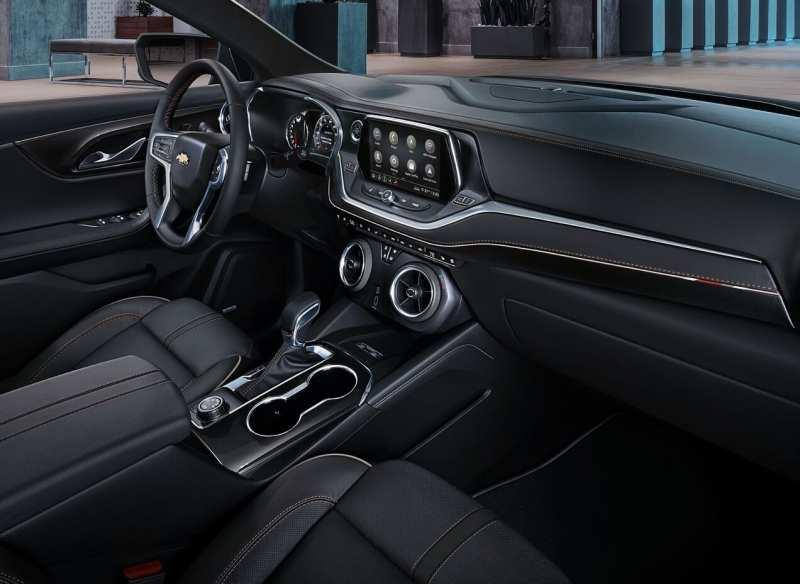 Interior of Chevrolet Blazer